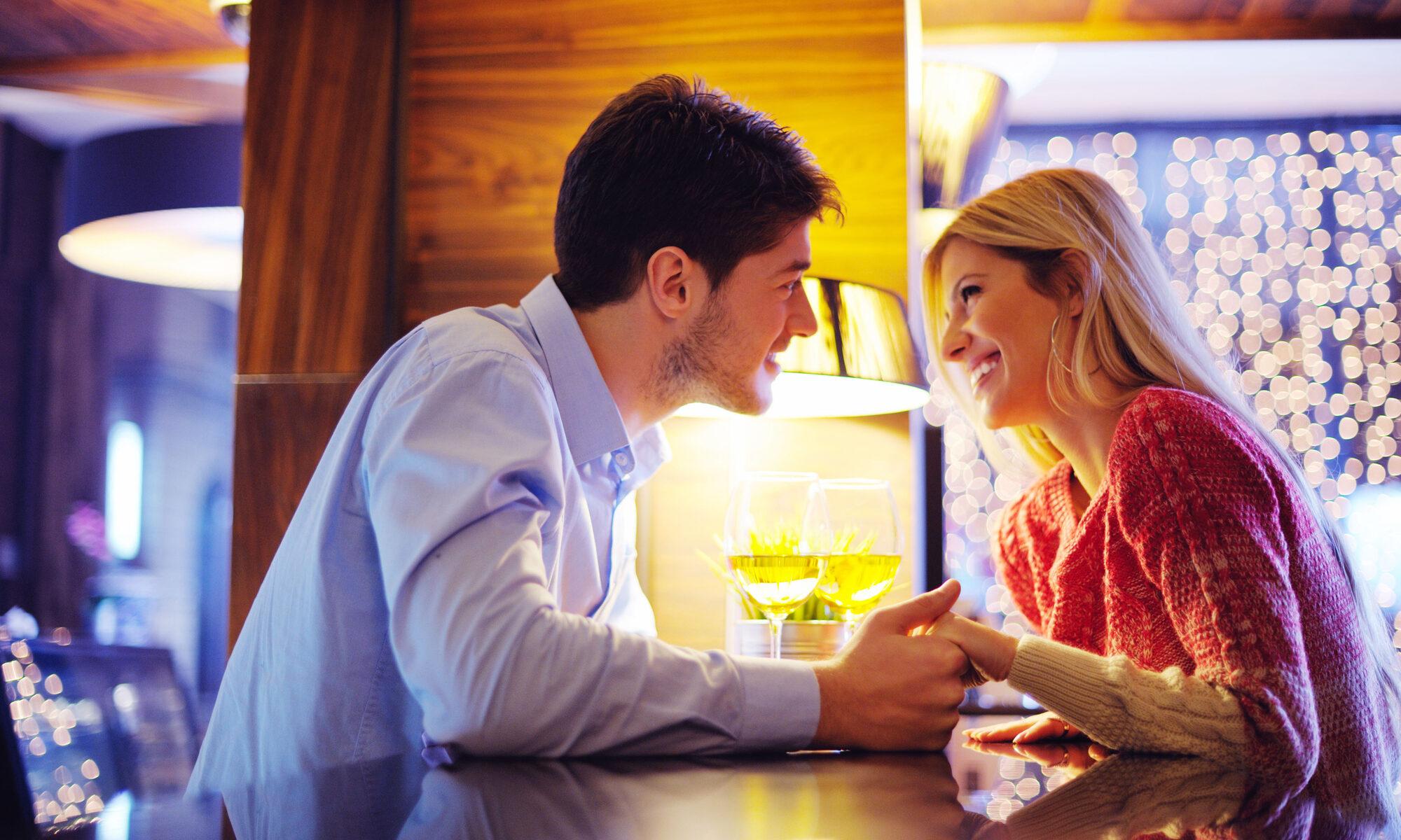 Paar beim zweiten Date