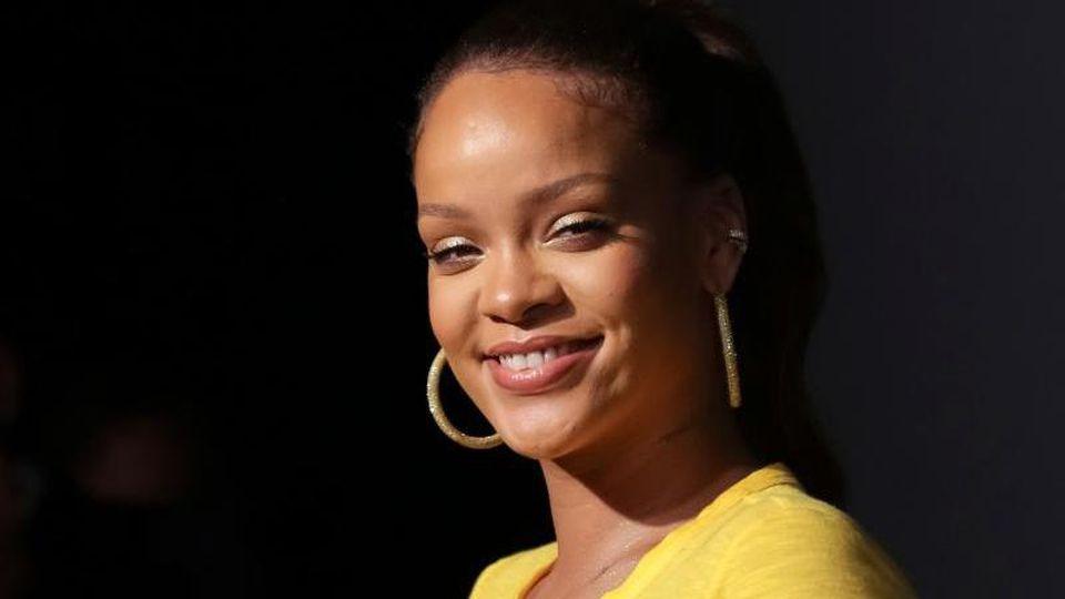 US-Sängerin Rihanna spendet mit Twitter-Chef Jack Dorsey Millionen. Foto: Brent N. Clarke/Invision/AP/dpa