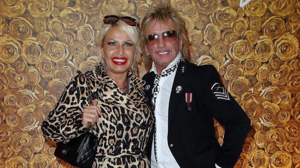 Bert Wollersheim mit seiner Ehefrau Ginger Costello.