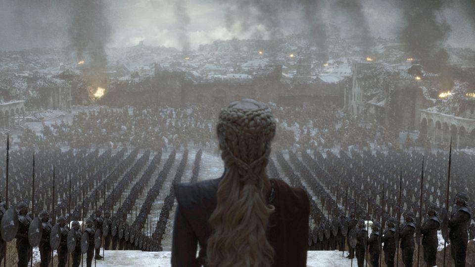 """Ihr Kampf ist zu Ende: Emilia Clarke in """"Game of Thrones"""""""