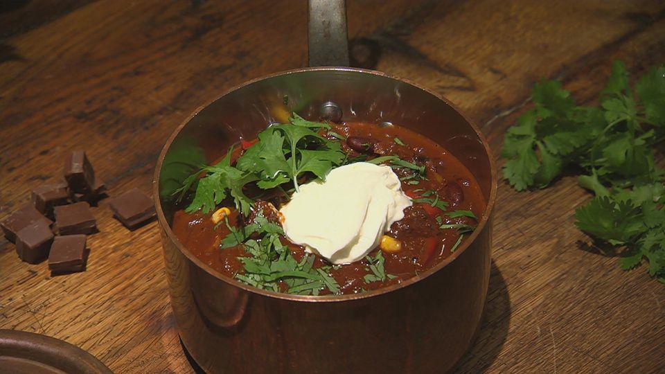 Süße Würze – Herzhafte Gerichte mit Vanille, Schoko und Zimt!: Chili con Schoko et Carne