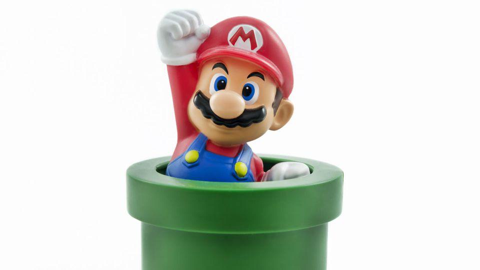 Wer kennt ihn nicht? Super Mario hat unsere Herzen erobert.