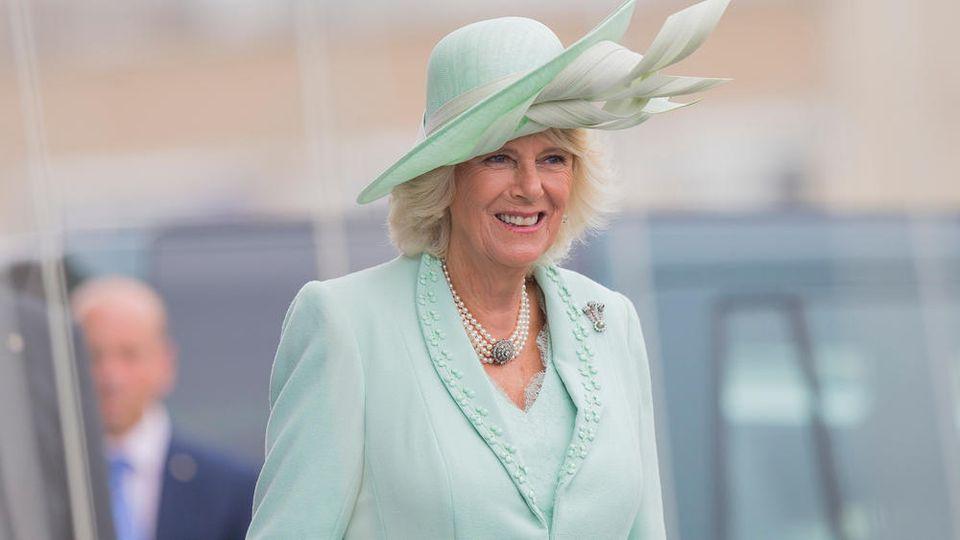 Herzogin Camilla ist bereits gegen das Coronavirus geimpft.