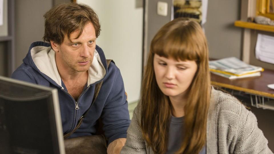 """""""Der Lehrer"""": Lilli (Alina Stiegler) und Stefan Vollmer (Hendrik Duryn)"""