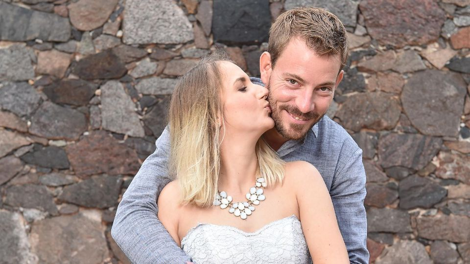 Anna und Gerald sind im Januar Eltern geworden.