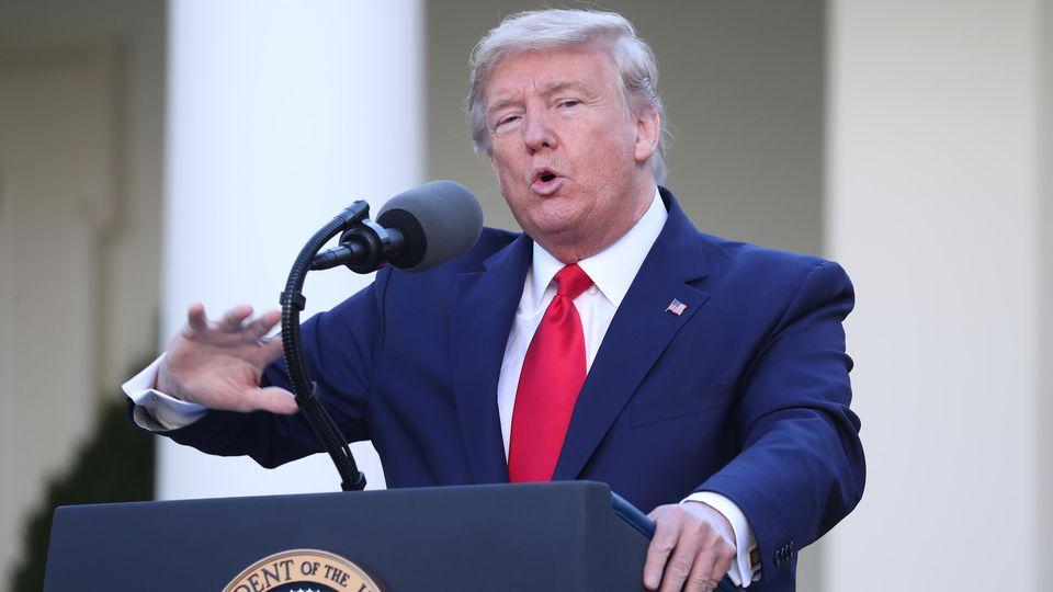 Donald Trump wollte wieder mal schlauer sein als alle anderen.
