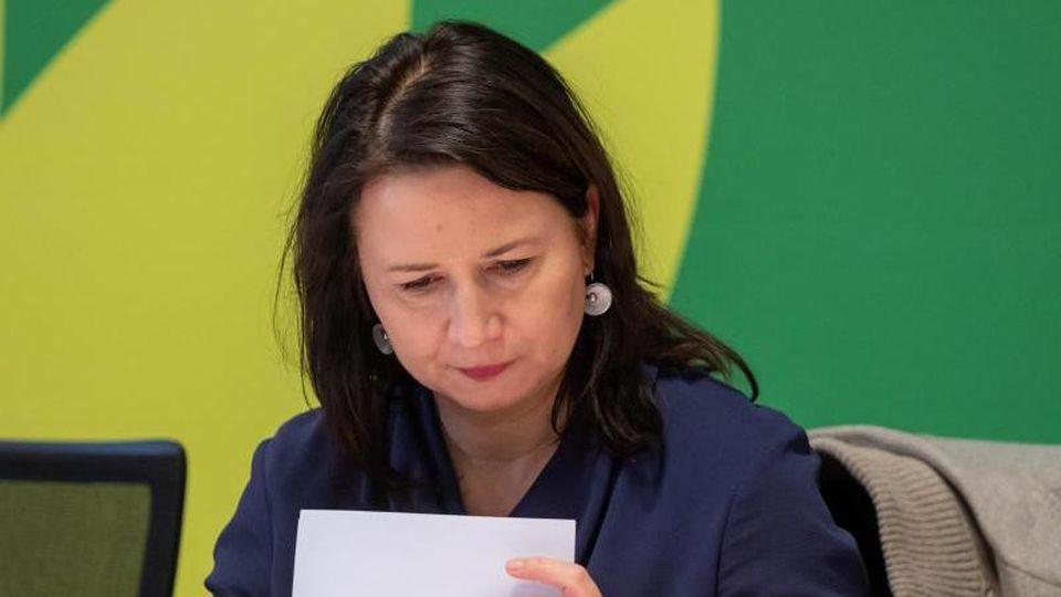 Anja Siegesmund, Umweltministerin von Thüringen. Foto: Michael Reichel/dpa/Archivbild