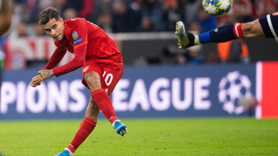 Champions League FC Bayern Muenchen vs Roter Stern Belgrad FK Crvena zvezda Allianz Arena Mue