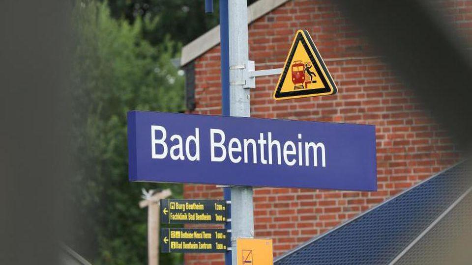 Der Bahnhof von Bad Bentheim. Foto:Mohssen Assanimoghaddam/Archivbild
