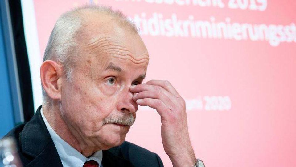 Der kommissarische Leiter der Antidiskriminierungsstelle des Bundes, Bernhard Franke (Archiv). Foto: Kay Nietfeld/dpa