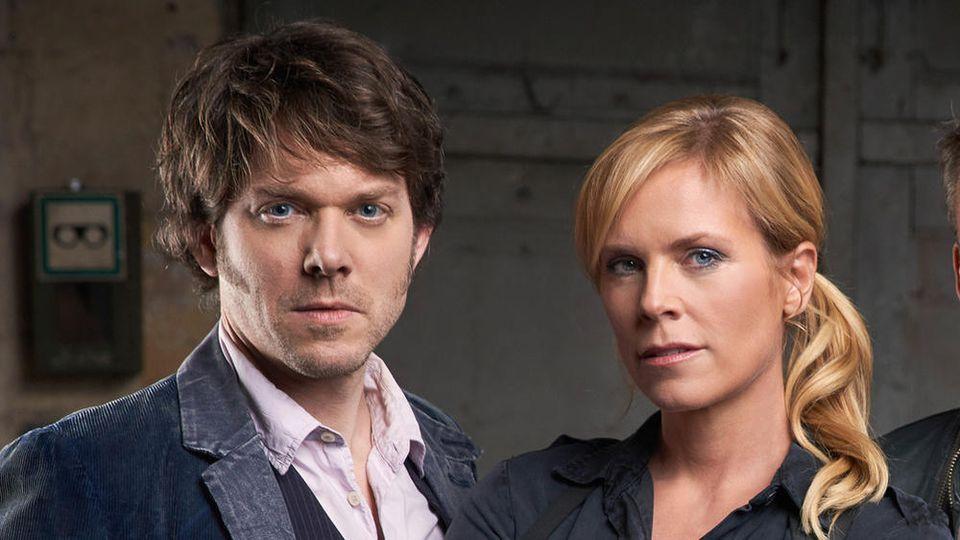 """Tom Kowalski (Steffen Schroeder) und Ina Zimmermann (Melanie Marschke) gehören zum """"SOKO Leipzig""""-Team."""