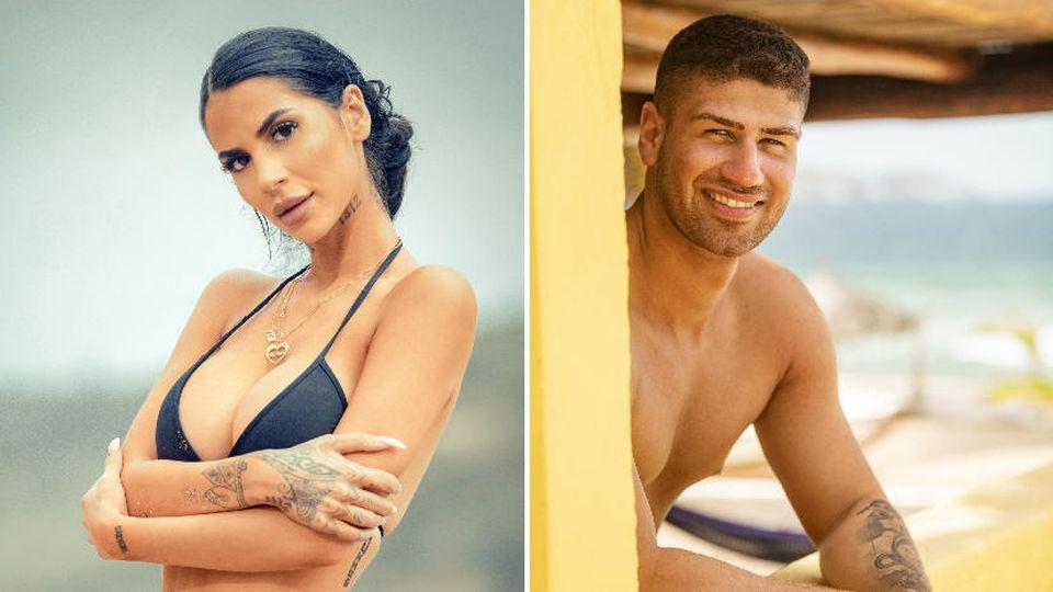 """Mia Madisson und Miguel Mulero sind die zwei Neuen im """"Paradise Hotel""""."""