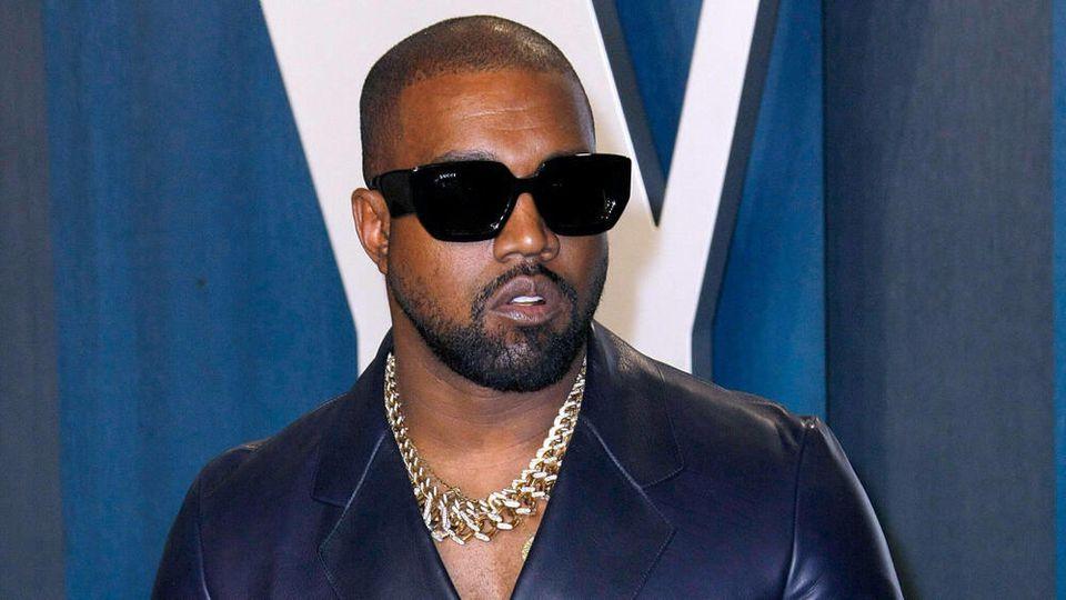 """Kanye West auf der Oscar-Party von """"Vanity Fair"""" im Februar 2020."""