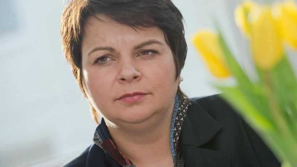 Mecklenburg-Vorpommerns Sozialministerin Stefanie Drese. Foto: Stefan Sauer/dpa-Zentralbild/dpa/Archivbild
