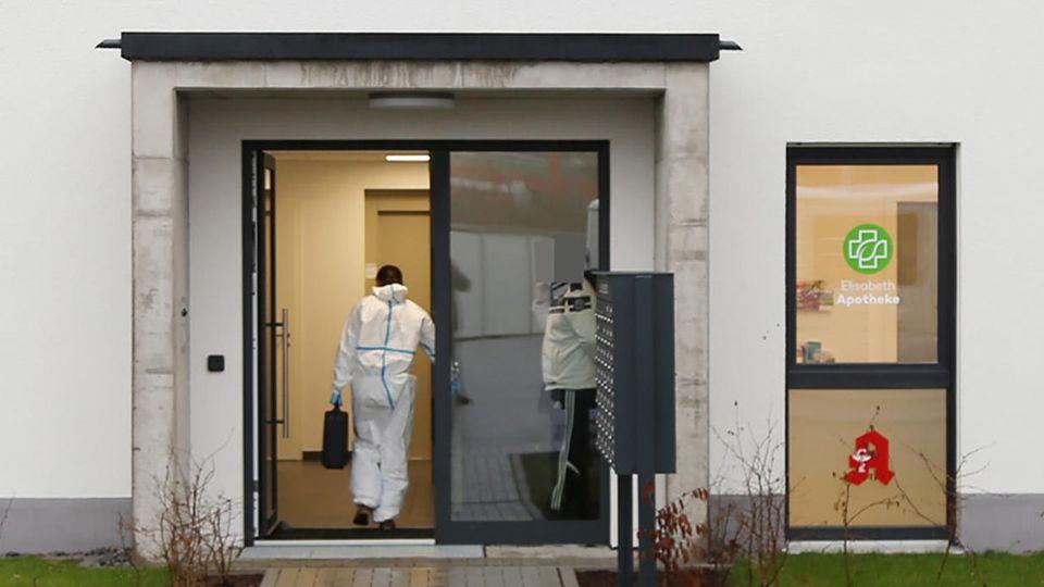 Frau in Aschaffenburg tot aufgefunden