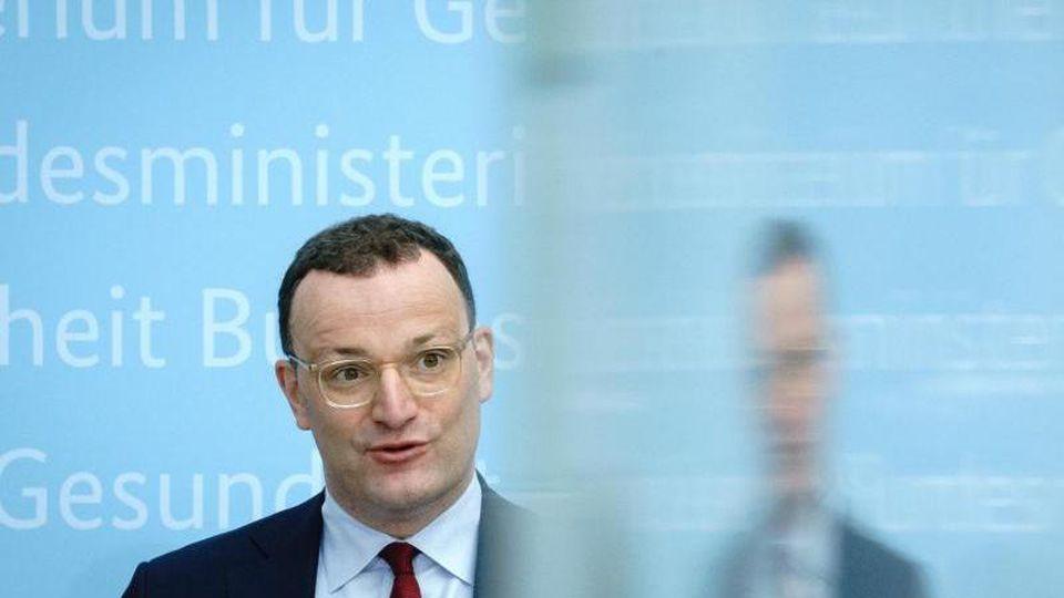 Jens Spahn (CDU), Bundesminister für Gesundheit. Foto: Kay Nietfeld/dpa