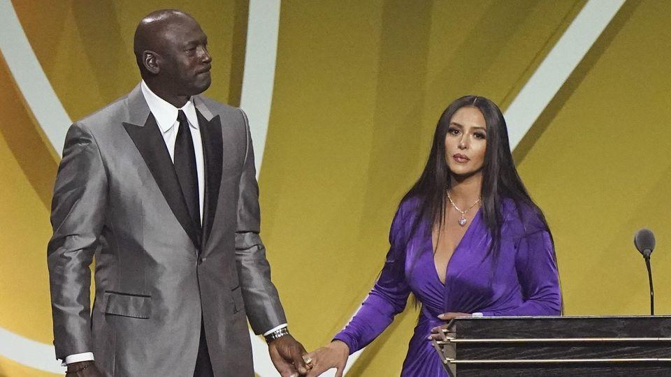 Vanessa und Kobe Bryant bei der Oscarverleihung 2018