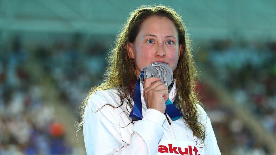 Sarah Köhler feiert Silber bei der WM in Südkorea
