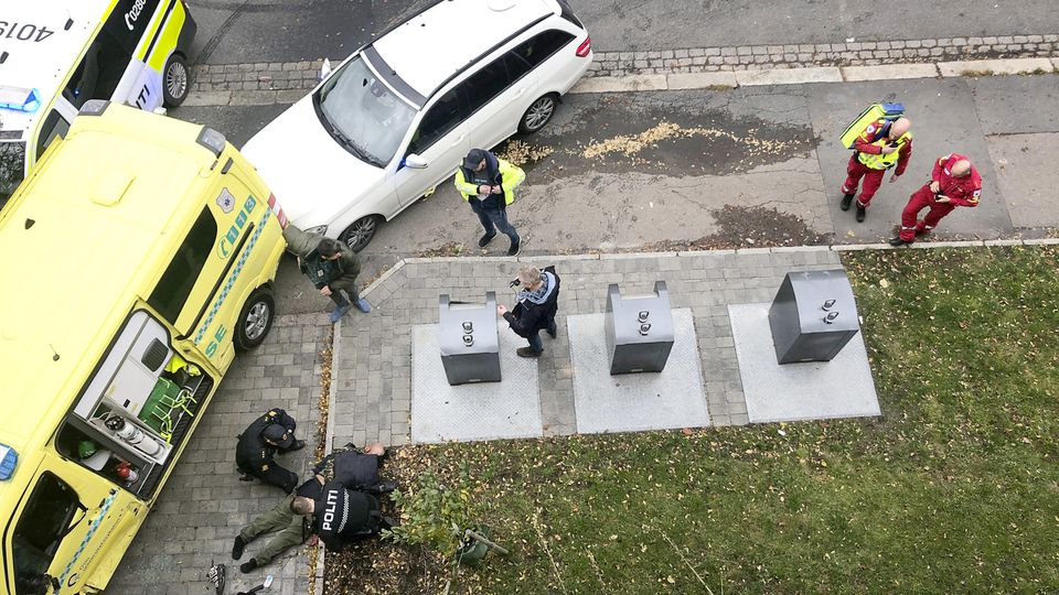 Menschen in Oslo durch gestohlenen Krankenwagen verletzt