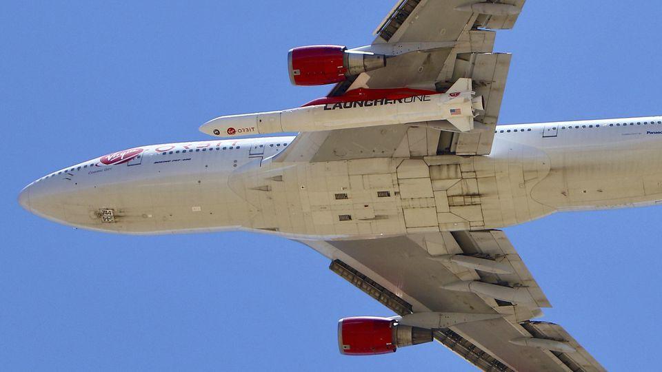 Testflug von Virgin-Orbit-Trägerrakete gescheitert