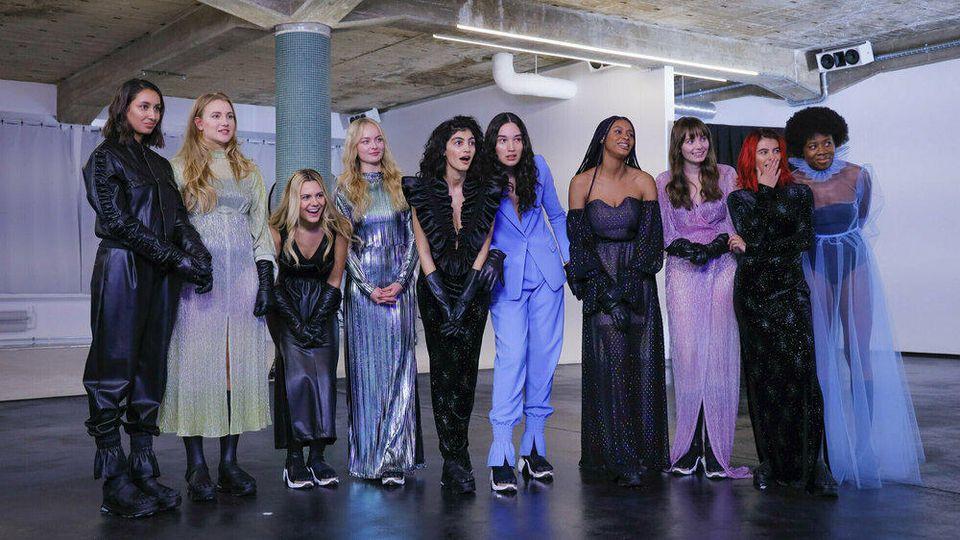 """""""GNTM"""": Die Models müssen diese Woche einen Casting-Marathon bewältigen."""