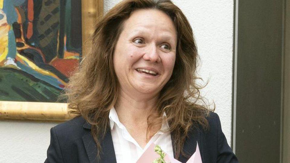 Neu gewählte Bundesverfassungsrichterin Ines Härtel. Foto: Wolfgang Kumm/dpa/Archivbild