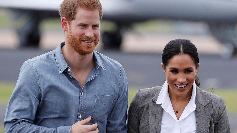 Prinz Harry und Herzogin Meghan sammeln Spenden für Corona-Impfungen