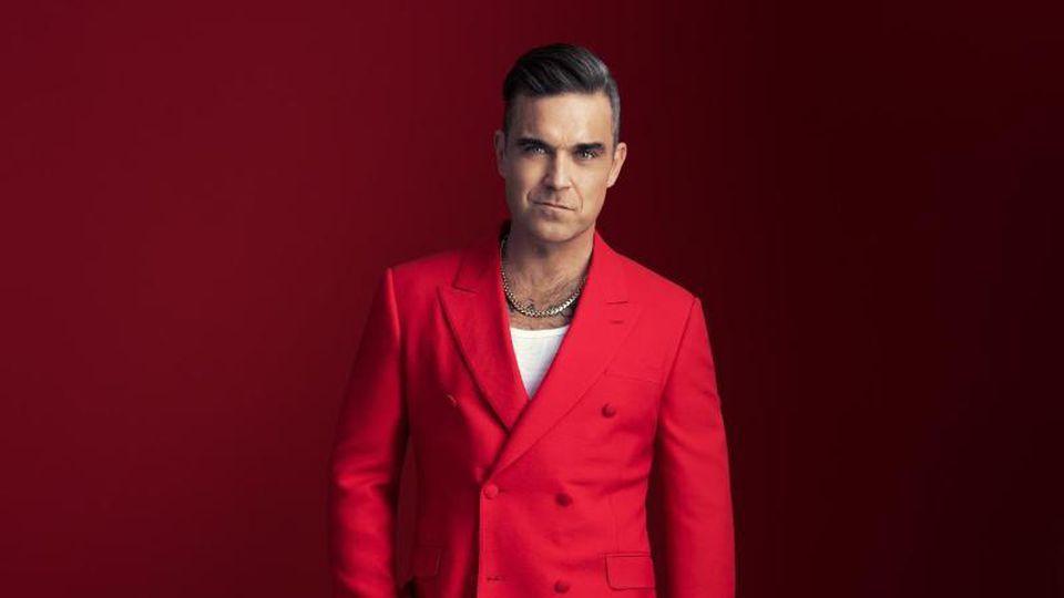 """Robbie Williams: """"Meine Frau hat mich mit Weihnachten angesteckt"""". Foto: Sony Music/dpa"""