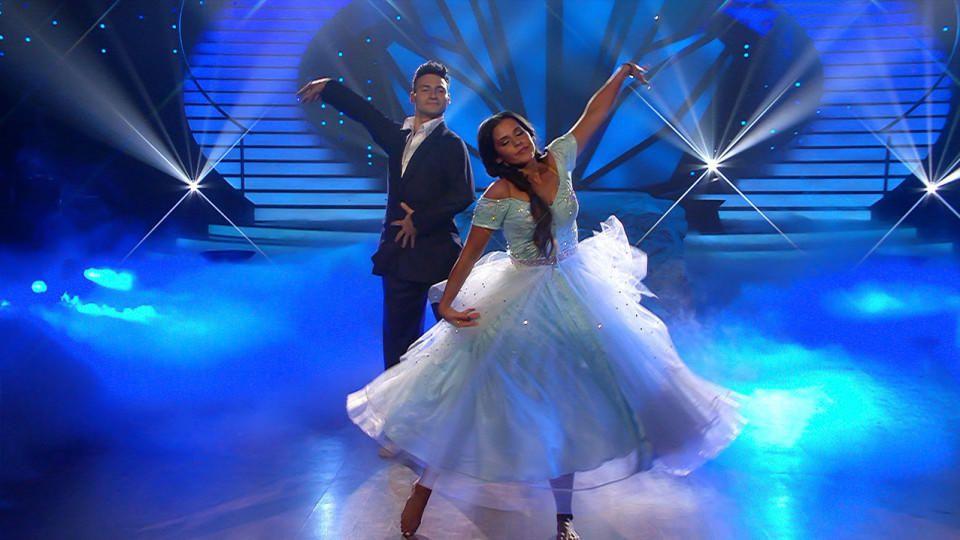 """Sarah Lombardi und Robert Beitsch im Finale von """"Let's Dance"""" 2016"""