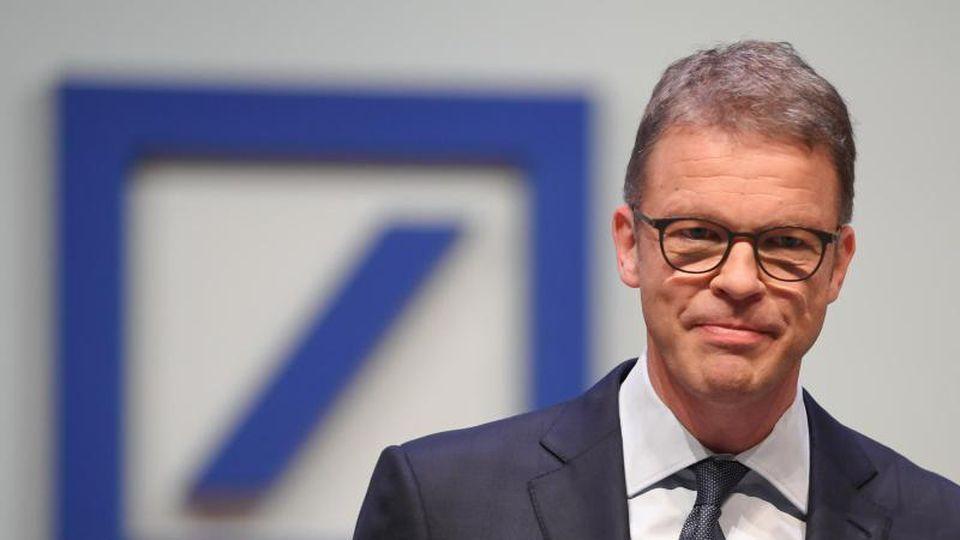 Christian Sewing, Vorstandsvorsitzender der Deutschen Bank.Foto: Arne Dedert/Archivbild