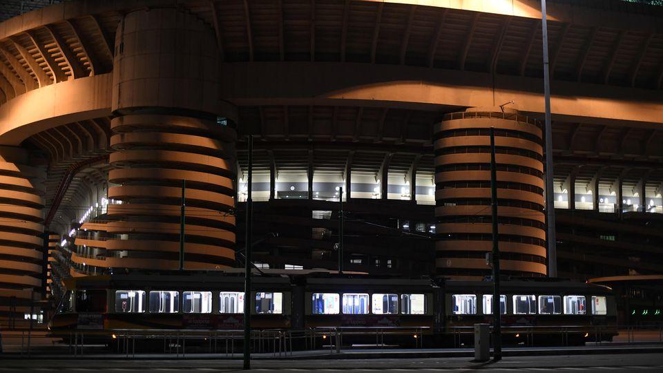 Soccer fans shut out of Inter Milan v Ludogorets match over coronavirus fears