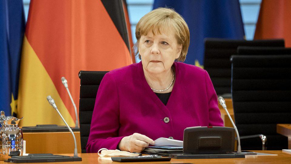Bundeskanzlerin Angela Merkel erinnerte am 8. Mai an das Kriegsende vor 76 Jahren. (Symbolbild).