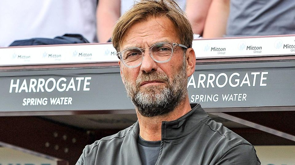 Liverpool s manager Jurgen Klopp during the pre season friendly match between Bradford City v Liverp