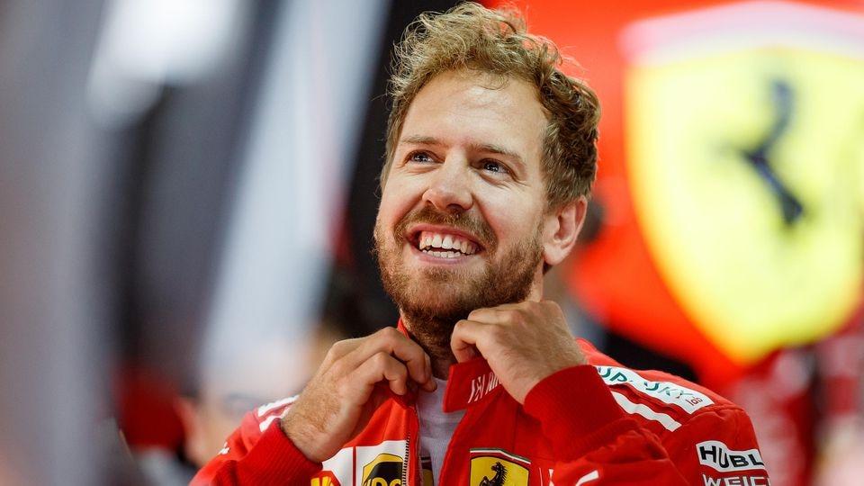 Sebastian Vettel findet den Ferrari-Neuzugang gut