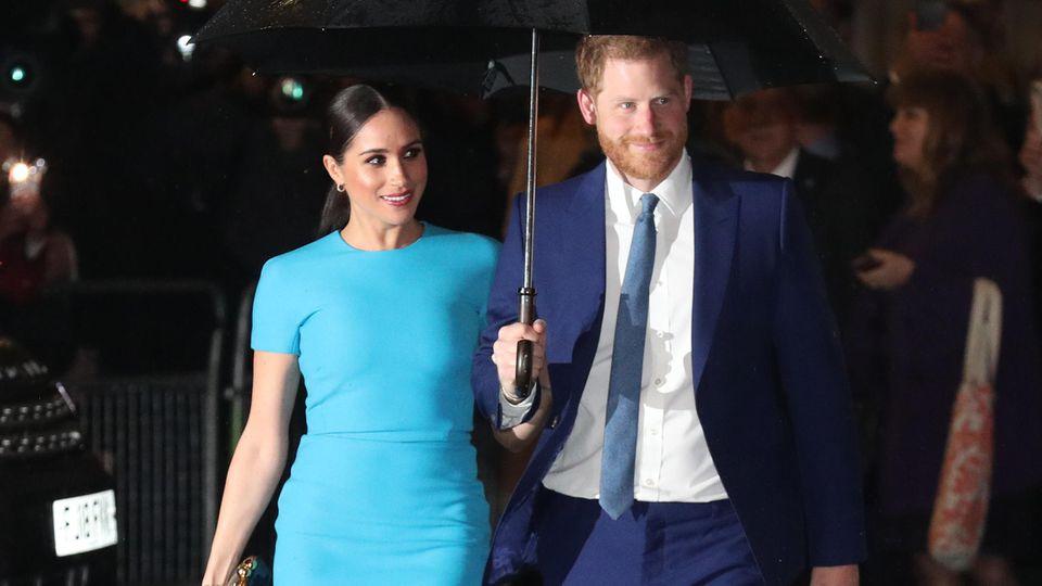 Herzogin Meghan und Prinz Harry lassen sich ihre Bodyguards was kosten.
