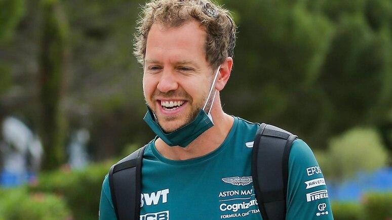 Nach einem schweren Start hat Sebastian Vettel neuerdings mit Aston Martin immer öfters was zu lachen.