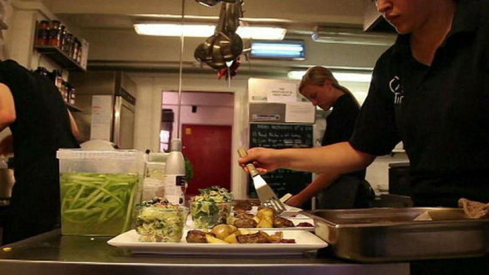 Das Restaurant 'Stub & Rub' in Kopenhagen.
