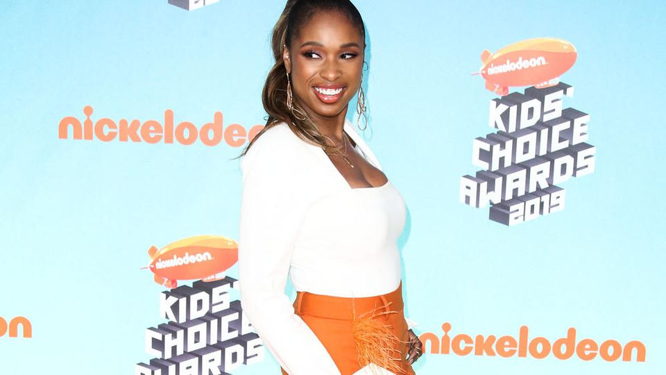 Jennifer Hudson bei den Kids' Choice Awards