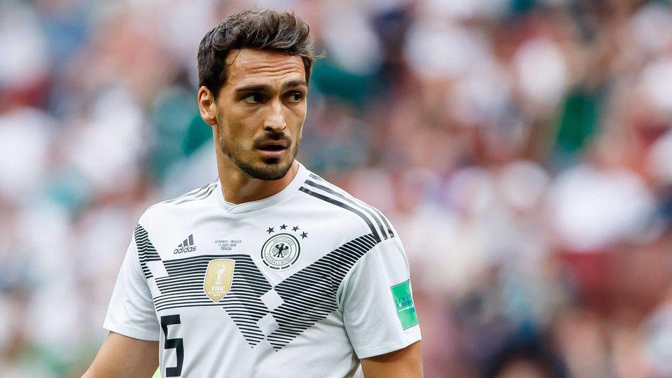 Moskau Russland 17 06 2018 FIFA Weltmeisterschaft Gruppe F Deutschland Mexico Mats Hummels