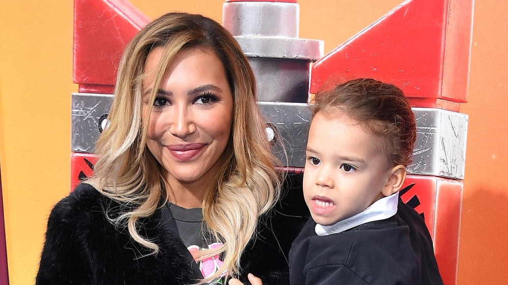 Naya Rivera und ihr Sohn Josey bei einer Filmpremiere im Februar 2019.