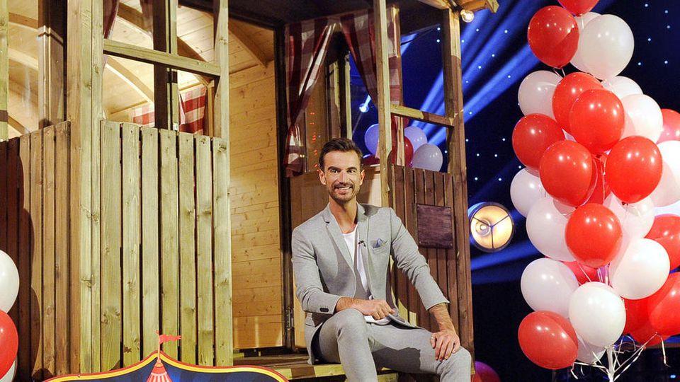 """Florian Silbereisen moderierte die MDR-Show """"Willkommen im SchlagerXirkus - Stars & Hits in Leipzig!""""."""