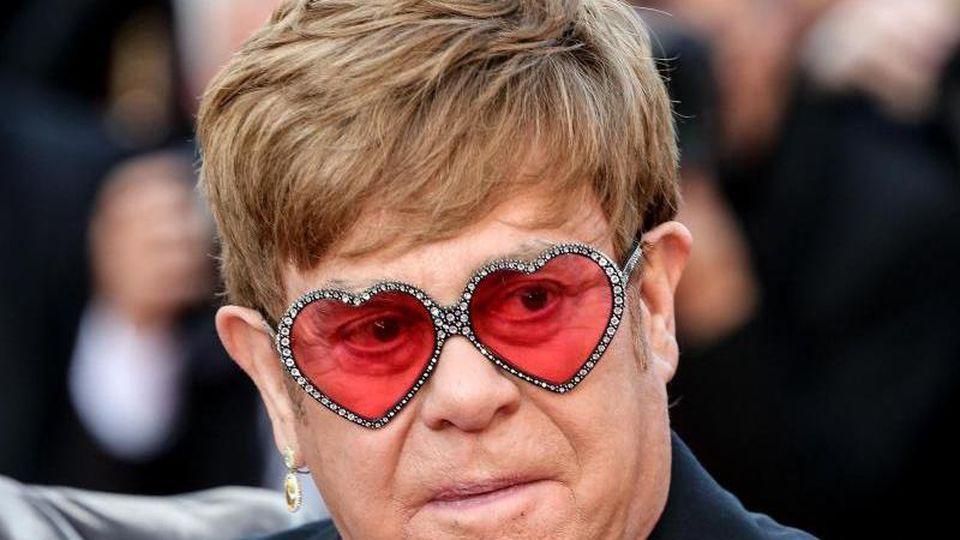 "Elton John bei der Premiere des Films ""Rocketman"" in Cannes. Foto: -/Imagespace via ZUMA Wire/dpa"