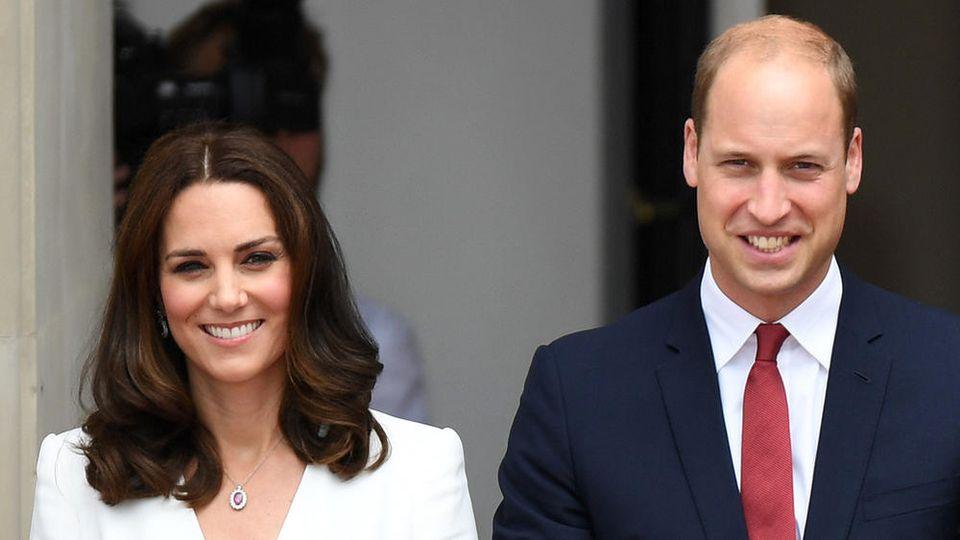 """Prinz William hat über ein geheimes """"Laster"""" seiner Frau Kate gesprochen"""