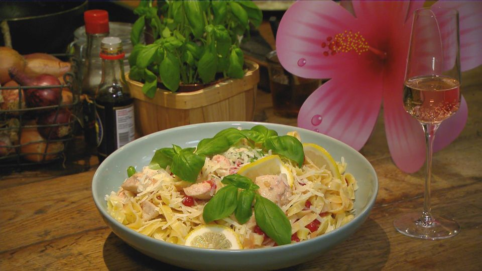 Mädelsabend – Girls just wanna have fun: Tagliatelle al limone