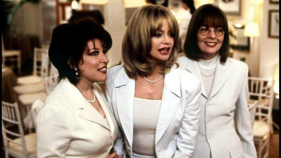 Nach 24 Jahren wieder vereint (von links): Bette Midler, Goldie Hawn und Diane Keaton