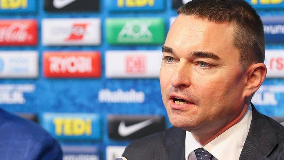 Bundesliga, Hertha BSC Pressekonferenz:Investor Lars Windhorst. Foto: Andreas Gora/dpa