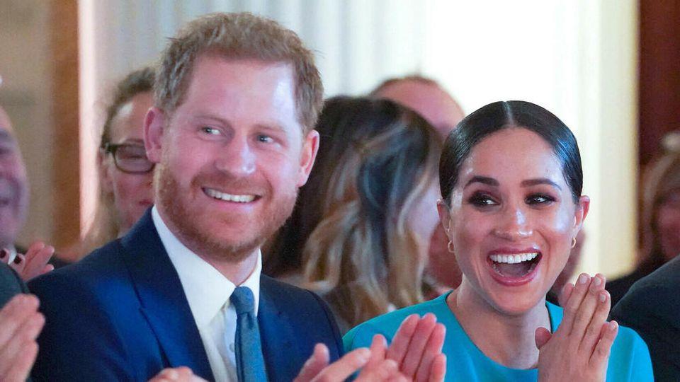Prinz Harry und Herzogin Meghan bei den Endeavour Fund Awards im März