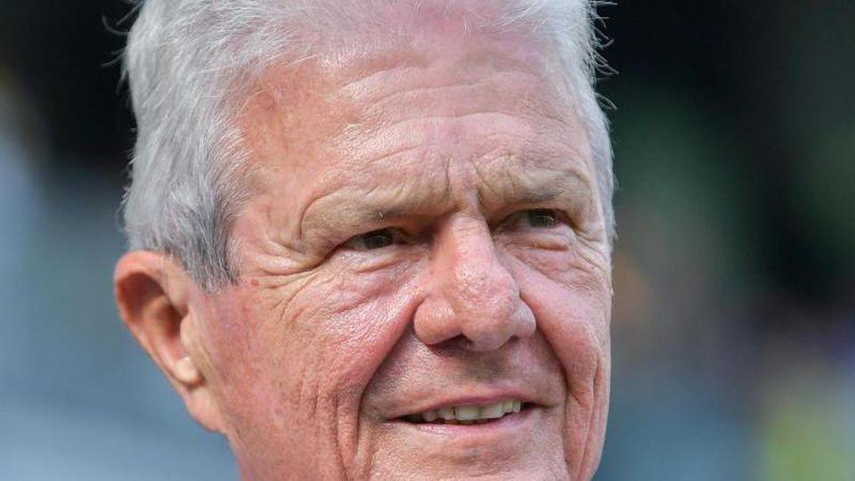 Hoffenheims Mäzen Dietmar Hopp. Foto: Uwe Anspach/dpa/Archivbild