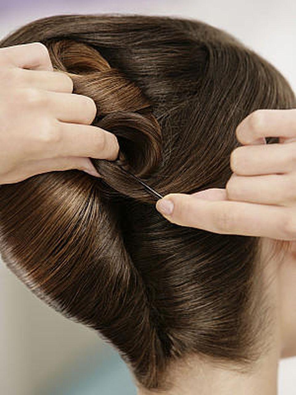 Haare Hochstecken Anleitung Für Hochsteckfrisuren