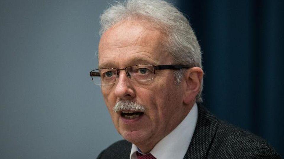AfD-Politiker Michael Frisch. Foto: Andreas Arnold/dpa/Archivbild